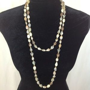 VINTAGE DOUBLE NECKLACE SET